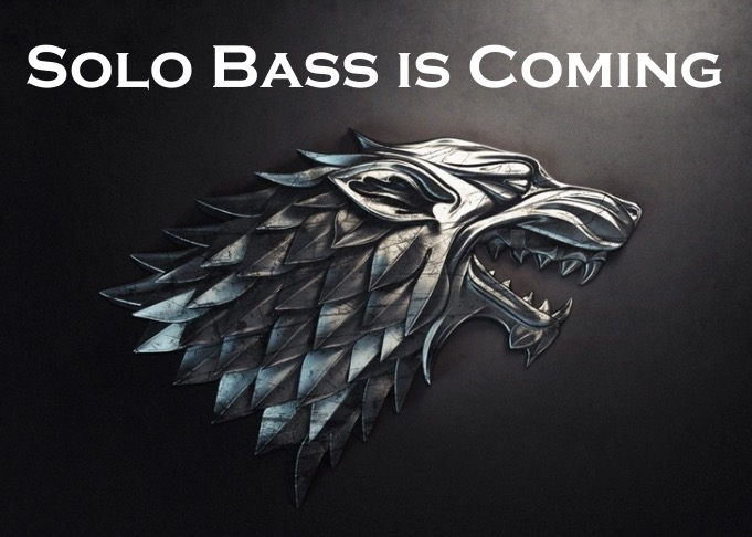 solo bass is coming